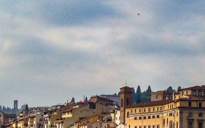 Pink Champagne in Florence